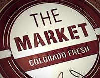 The Market - Logo and Signage