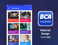 BCA Mobile with Material Design