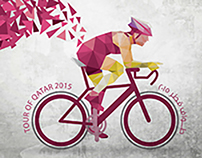 Tour Of Qatar 2015 Branding