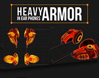 HeavyArmor In-Ear Phones