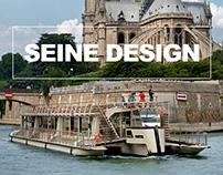 SEINE DESIGN - Trimaran Bateaux Parisiens - RIver boats
