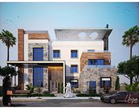 Modern privet Villa