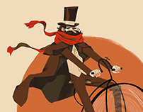 Victorian Cyclist