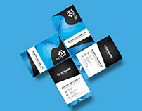 Free Clean Corporate Business Card / PSD