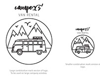 Campers' Logo Design