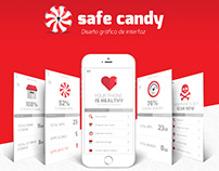 Safe Candy app - graphic design / 2015