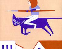 SUPERPOWER poster illustration