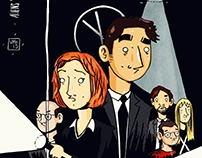 the x -files family portrait