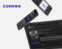 ComeOn — Streaming video service