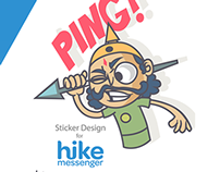 CHATUR SAINIK 1- HIKE STICKER PROJECT