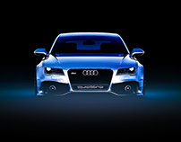 Audi RS7 Clinched. Visualization.