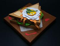Paper Sandwich
