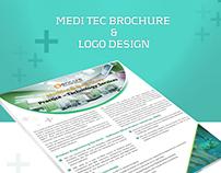 Medi Tech Brochure and Logo Design