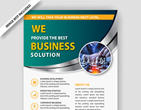 Editable Business Flyer