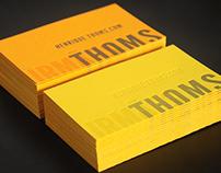 Cartão de visitas | Henrique Thoms