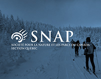 SNAP Québec - Graphic design