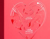 Invitation de l'Orchestre Colonne et la Salle Wagram
