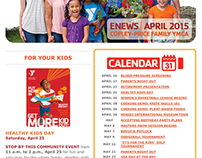 (YMCA) April eNews Monthly Email