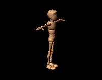 Animacja postaci - siad
