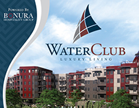 Water Club Tradeshow Pull Up Banner