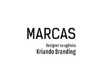 Marcas como Designer na Agência Kriando.