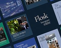 FLOSK Instagram Templates
