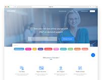 Online learning Webpage