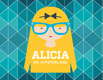 ALICIA HIPSTERLAND / Poster