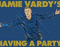 Jamie Vardy's having a party