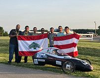 2018 SAE Supermileage Car (B.Eng. Final Year Project)