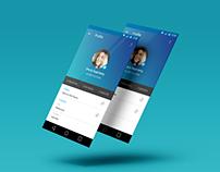 Tracking App UI UX Design
