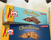 Peek Freans Chocolicious Packaging, Print & Outdoor