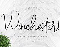 Free Winchester Script Font Demo 2018