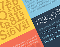 Type Specimen Poster - Klinic Slab