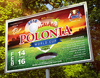 Polonia World Cup - Event Branding