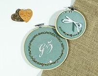 Embroidery #Wedding 04