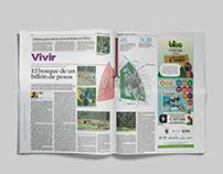 El Espectador // Graphic design
