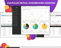 Celerant Dashboard UI Design/Visualization