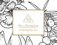 'YouBewdy' Logo + Business Card Design
