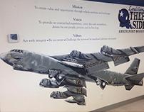 Copart B-52 Mural