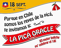 ORACLE - FIESTAS PATRIAS