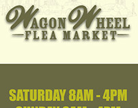 Wagon Wheel Flea Market Ad, for Your Ad Here 2016