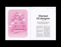 Illustrations for Grafia Magazine