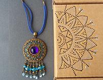 """Ethnic jewelry """"Spices"""""""
