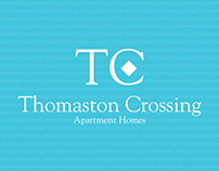 Thomaston Crossing branding