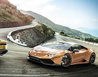 Lamborghini Huracan CGI 3D Render
