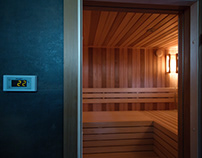 Intercom sauna