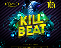 KILL BEAT PARTY