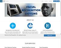 3D Face Recognition Website