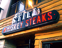 The Still Whiskey Steaks Logo